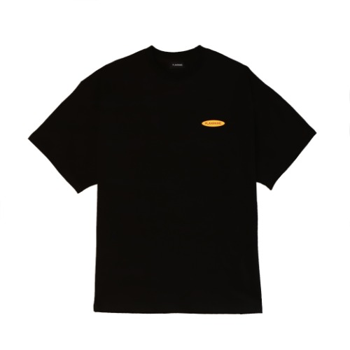 [PLAN9NINE] SURFING STANDARD FIT HALF T-SHIRT BLACK