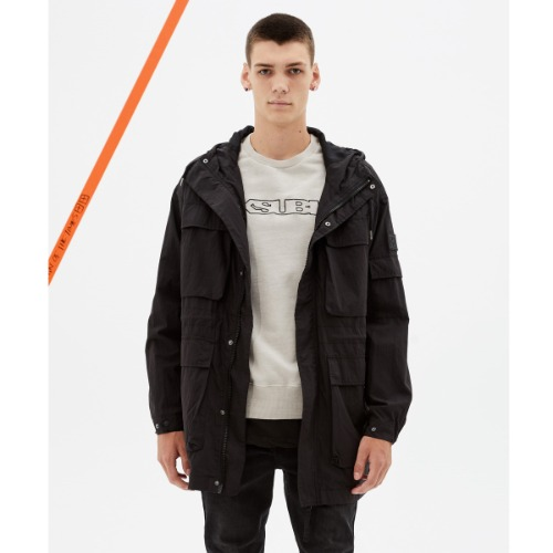 [KSUBI] Gizmo Jacket Black