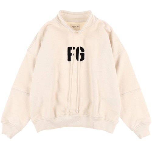 [FEAR OF GOD] MOCK NECK 'FG' PULLOVER