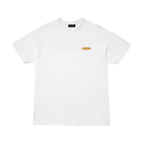 [PLAN9NINE] SURFING STANDARD FIT HALF T-SHIRT WHITE