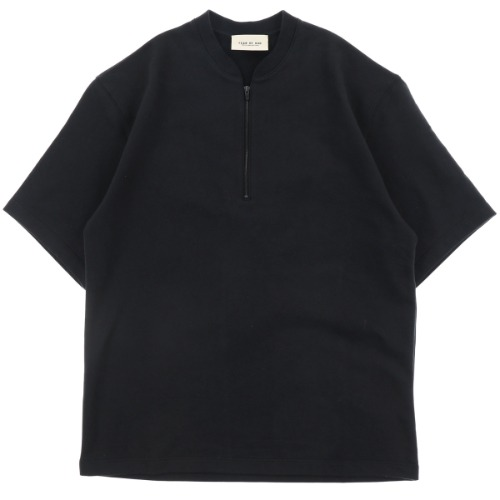 [FEAR OF GOD] SHORT SLEEVE HALF ZIP TEE