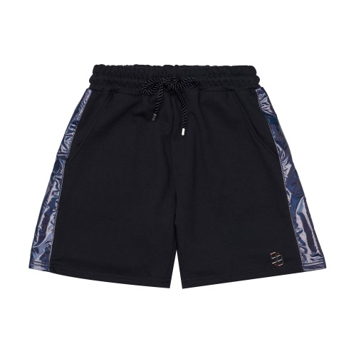 [PLAN9NINE] SIDE LINE HALF PANTS