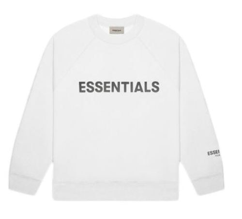 ESSENTIALS 3D Sillicon SWEAT SHIRTS