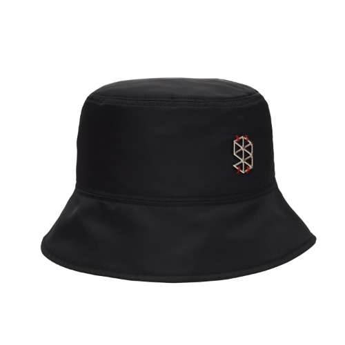 [PLAN9NINE] LOGO PLATE BUCKET HAT