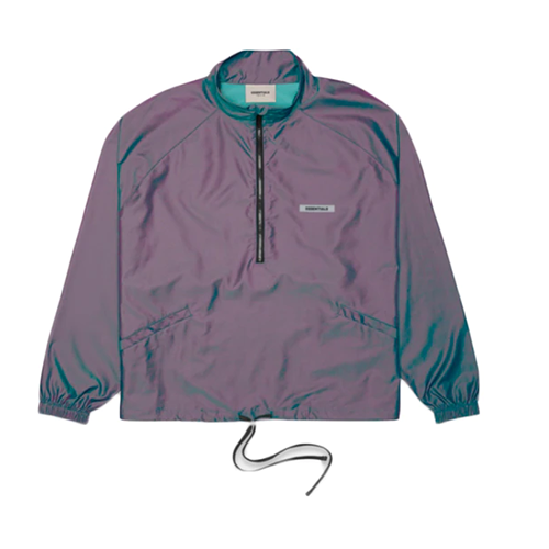 ESSENTIALS TRACK HALF ZIP UP JACKET