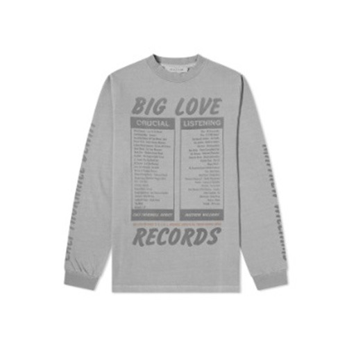 [1017 ALYX 9SM X BIG LOVE RECORDS] Long Sleeve Tee
