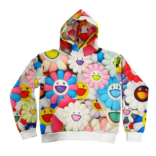 Jbalvin All over Flower Hoodie