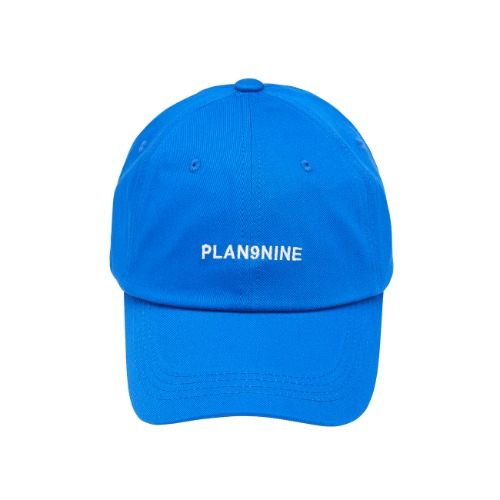 [PLAN9NINE] LOGO PRINT BALL CAP